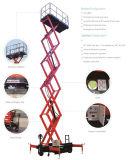 Colhedoras de elevador de tesoura Max da altura da plataforma 8 (m)