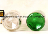 Kundenspezifische bernsteinfarbige GlasGroßhandelsbierflasche des Umlauf-330ml mit Kappe
