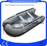 De Factoy Gemaakte Vloer van het Aluminium Opblaasbare Vissersboot voor Verkoop