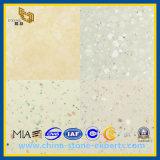 De witte/Grijze Gele Steen van het Kwarts Caesar voor Bovenkant Countertops&Vanity
