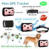 고양이 또는 개 또는 애완 동물 D69를 위한 고리를 가진 2g Geo 담 휴대용 GPS 추적자