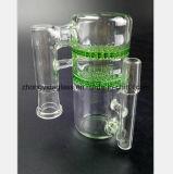 Grüne Bienenwabe-Filter-Glas-Pfeife Gefäß-Zubehör