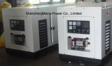 baldacchino insonorizzato silenzioso del generatore diesel BRITANNICO standby del motore di 15kVA 12kw