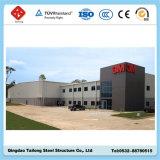 Costruzione professionale della tettoia del magazzino della struttura d'acciaio di disegno