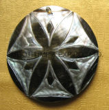 Кнопка раковины кокоса одежд DIY способа естественная застегивает ювелирные изделия вспомогательным
