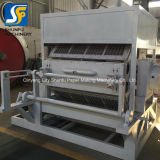 Máquinas de fabrico de papel pedaços 2500/ hora tabuleiro de ovos máquina de formação de placa de papel