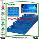Пластичная складная коробка клети хранения земледелия для хуторянин