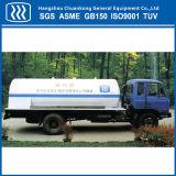 Flüssiges Gas-Transport-Tanker-Sauerstoff-Wasserstoff-halb Schlussteil