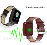 心拍数のモニタD28が付いている多彩なタッチ画面GPSの追跡者の腕時計