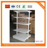 Estantería estándar del supermercado de Peforated del metal de la capa del polvo de Manufacturer 08089