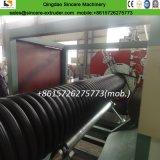 La nervatura dell'HDPE ha rinforzato la macchina ondulata a spirale profilata di produzione del tubo