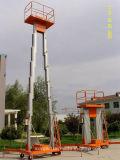 油圧アルミ合金作業上昇をはめ込む可動装置