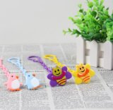 Ketting van de Fopspeen van het Silicone van het Stuk speelgoed van het Tandjes krijgen van de Baby van de Veiligheid van nieuwe Producten 2018 de Kleurrijke