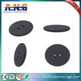 860-960MHz 2つの穴とちり止め洗濯できるRFIDの洗濯の札のブランク