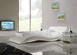 Кровать сбывания A044 Европ самомоднейшая двойная