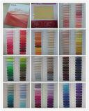 Tela de gasa de poliéster, tejido y tejido, 200 colores, ventas al contado para la ropa