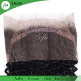 Frontal svizzero del merletto 360 di alta qualità riccia allentata dei capelli umani