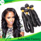 7A Grade Unprocessed Wave Hair Remy Human Hair Extension