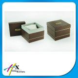 Contenitore di imballaggio di carta su ordinazione all'ingrosso Handmade di lusso dei monili della vigilanza