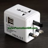 Universal USB Plug Travel Adapter