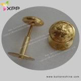 Army Garmentsのための金Brass Cover Button