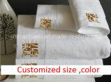 Ensemble de la couleur unie à armure toile Hôtel Serviette Serviette de bain, salle de bains