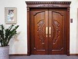 Verkaufs-gut feste hölzerne Tür mit Glas (RA-N045)