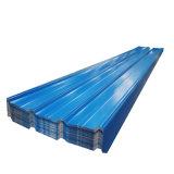 지붕용 자재를 위한 색깔 Prepainted 물결 모양 강철 루핑 장