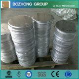 Plaque de cercle d'alliage d'aluminium de la norme 2011 d'ASTM
