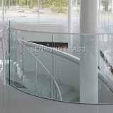 Frameless endureceu a balaustrada do vidro Tempered