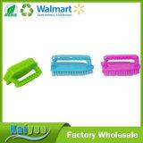 Durable Plastic Cleaning Scrub Cepillo Cepillo de zapatos con mango