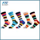Calcetines felices del algodón de los calcetines de la manera