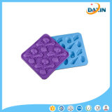 Couleur aléatoire Silicone Ice Lattice Shells Ice Chocolate Biscuit Silicone Mold