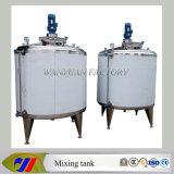réservoir de refroidissement 1000L et de chauffage revêtu avec le chauffage de vapeur