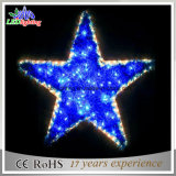 Star Shape LED Lights de Noël / Star Christmas Motif Rope Lights