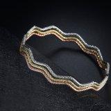 Gouden Armband van het Ontwerp van de Gift van het geheugen de Eenvoudige zonder Stone