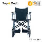Topmedi Travelite tragen leichter kompakter Transport-Rollstuhl mit Beutel
