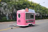 De Aanhangwagen van de hotdog/de Kar van de Lunch van de Pizza/de Aanhangwagen van het Voedsel voor Verkoop