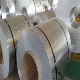 Plaque à damier en aluminium 6063 avec 2 bandes
