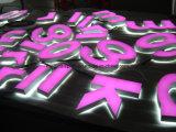 편지를 광고하는 LED