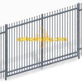 Cancello superiore urgente tubolare dell'oscillazione doppio