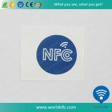 주문을 받아서 만드는 고쳐 씀 풀그릴 13.56MHz Ntag213 NFC 스티커 인쇄