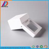 Custom Защелкивающаяся картонной упаковке с окна из ПВХ