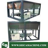 Compressor de parafuso arrefecidos a ar Chiller de Agua