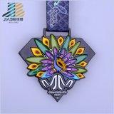 Il nuovo Debossed smalto di 2017 colora le medaglie correnti di maratona su ordinazione 10k