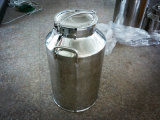 Sanitaire des Aliments 20L de lait peuvent en acier inoxydable
