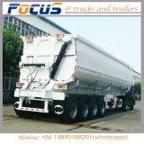45m3 разгрузки прицепа 3 моста прицепа самосвального кузова грузовика для угольной промышленности