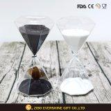 Оптовый отметчик времени Hourglass и песка выдувного стекла для украшения партии