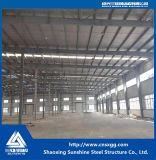 Struttura d'acciaio chiara per la costruzione del workshop