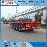 40FT 2/3 do eixo do leito de reboque Semi para o transporte do recipiente/carga